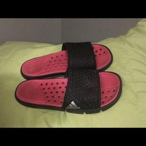 breathable adidas slip on slides